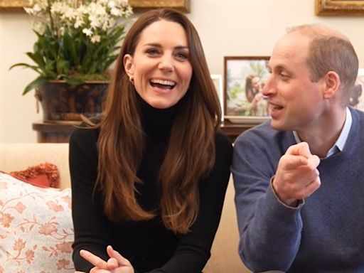 王室級影片!威廉王子與凱特轉戰當網紅