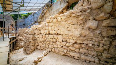 考古發現以色列猶太國鐵器時代古城牆遺蹟