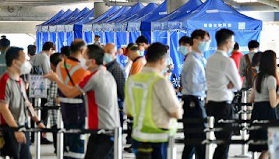 2間學校強制檢測 機場員工檢測加密至每3天一次