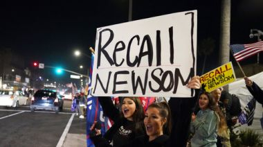 Southern California Stay-At-Home Curfew Draws Protests But No Police Actions