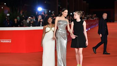"""Angelina Jolie and Her Kids Won the Red Carpet at the """"Eternals"""" Rome Premiere — See Photos"""