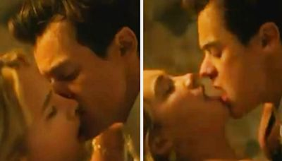 """The First Look At Florence Pugh And Harry Styles In """"Don't Worry Darling"""" Is Here, And Yes, Everyone Is Not Calm"""