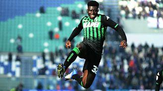 Ghana's Duncan opens season goal account for Sassuolo