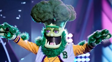 Masked Singer recap: Broccoli chopped, unmasked to reveal famed crooner