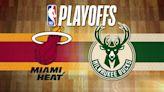 Bucks will face Heat in the first round of playoffs