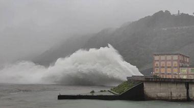 石門水庫飽過頭 上午10點洩洪