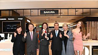 櫻花首家百貨專櫃新光三越台中直營專櫃開幕