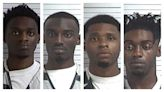 Four men arrested for battery on Panama City Beach