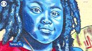 WEB EXTRA: Colin Kaepernick Mural In Tampa