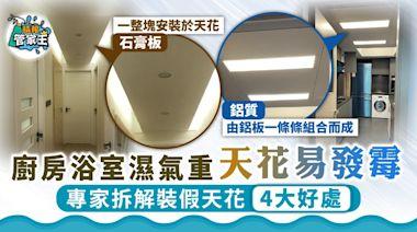 家居設計|廚房浴室濕氣重天花易發霉 專家拆解裝假天花4大好處 - 晴報 - 家庭 - 家居
