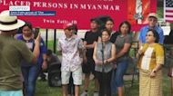 Burmese community holds event to raise money for displaced people in Myanmar