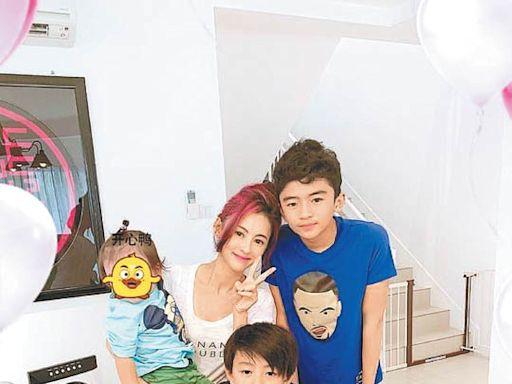 壹傳媒無恥 侵擾張栢芝幼子 - 東方日報