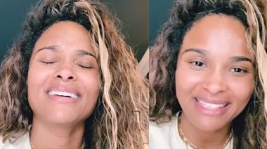Ciara Shows Off Radiant Makeup-Free Skin in New Singing Video on Instagram