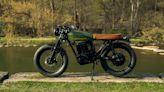 Beachman '64, l'e-bike dalle linee di una moto Café racer