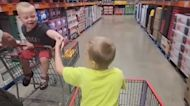 Brothers share special bond, hate being apart in grocery store