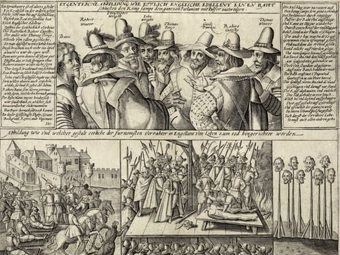 The Gunpowder Plot: torture and persecution in fact and fiction