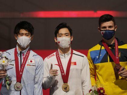 體操|世錦體操全能封王 張博恒中國第5人