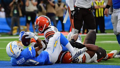 Browns pulled Chargers RB Austin Ekeler into end zone for game-winning touchdown