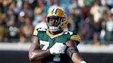 Packers LT Elgton Jenkins 'doing better' but won't practice Thursday