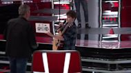 The Voice: Duo Jim And Sasha Allen Sing John Denver's Leaving On A Jet Plane