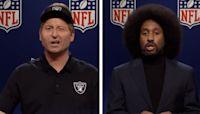 SNL takes aim at scandal-ridden NFL
