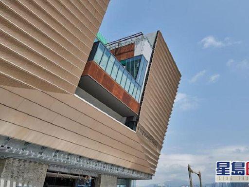 港故宮博物館方鼎造型外牆古樸 採用4022件獨特鋁板
