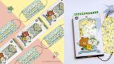 最新「LINE FRIENDS田園樂口罩」把熊大、兔兔和莎莉變成可愛園丁,幫你一掃心中壞心情!