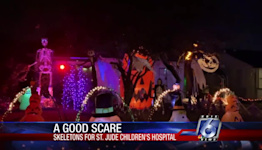 Skeletons for St. Jude's: How two local homes are giving a fright and giving back