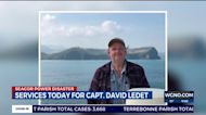 Funeral services for Seacor Power Captain David Ledet
