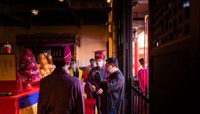 2571週年祭孔典禮 鄭文燦表達對教育傳統的推崇