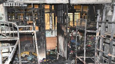 油麻地起火板間房嚴重焚毀 碌架床燒剩鐵架 | 社會事