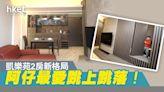 【裝修設計】居屋樓王大執位! 一家三口住320呎凱樂苑$40萬拆改開放式廚房特色儲物地台無得輸 - 香港經濟日報 - 地產站 - 家居生活 - 裝修設計