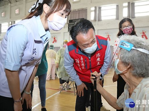兩天4567人完成接種 嘉縣明開放80至84歲施打