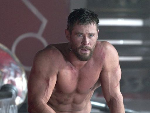 Chris Hemsworth says he used blood-flow-restriction training to get 'arms like the legs of a racehorse' to play Thor