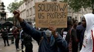 Fury boils over around the world in George Floyd protests