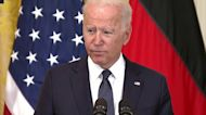 Biden: 'Russia must not be allowed to use energy as a weapon'