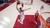 WATCH: USA Basketball men's 5×5 120 – 66 blowout of Iran highlights