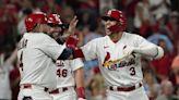 Carlson, Mikolas help Cards top Padres in wild-card showdown