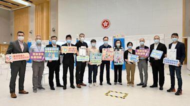公務員事務局局長與多個公務員團體呼籲盡早接種新冠疫苗(附圖)
