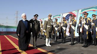 Iran's president says 'talks are useless' as new missile system introduced