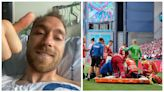 歐國盃|基斯甸艾歷臣留醫7日後出院 回家前先趕去一個重要地方