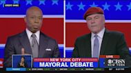 NYC Mayoral Candidates Eric Adams, Curtis Sliwa Face Off In Fiery Final Debate