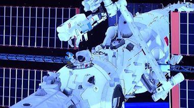 航天員兵分兩路,回艙前遇異常輻射!復盤天宮空間站首次太空出艙