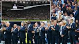 Tottenham legends line up in emotional tribute to Jimmy Greaves
