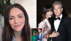 Katharine McPhee says Prince Harry & David Foster are like dad & son