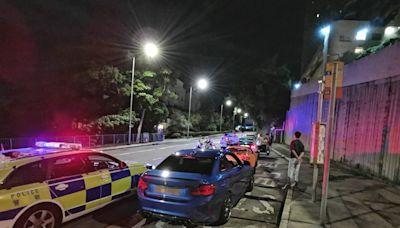 警港島打擊非法賽車及超速 扣留25輛疑非法改裝私家車
