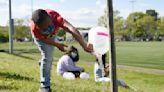In photos: Stamford kids help Pollinator Pathway trees flourish