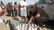 Family of black man killed by LA police demands justice