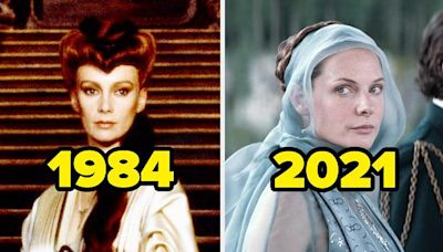 """15 Side-By-Sides Of The """"Dune"""" Characters In The Original Movie Vs. What They Look Like Now"""