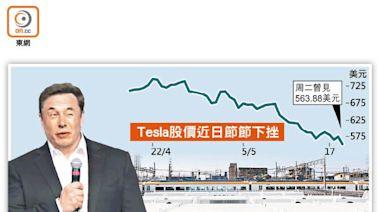 Tesla再遭睇衰 累瀉36%